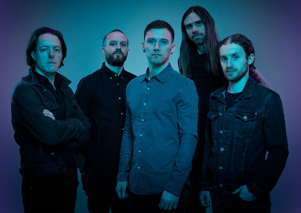TesseracT - Photo by Steve Brown - Synthax Audio UK