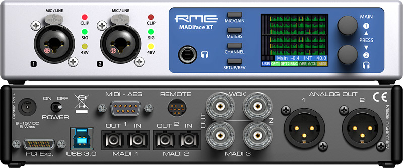 RME MADIface XT - Front and Back - Synthax Audio UK.jpg