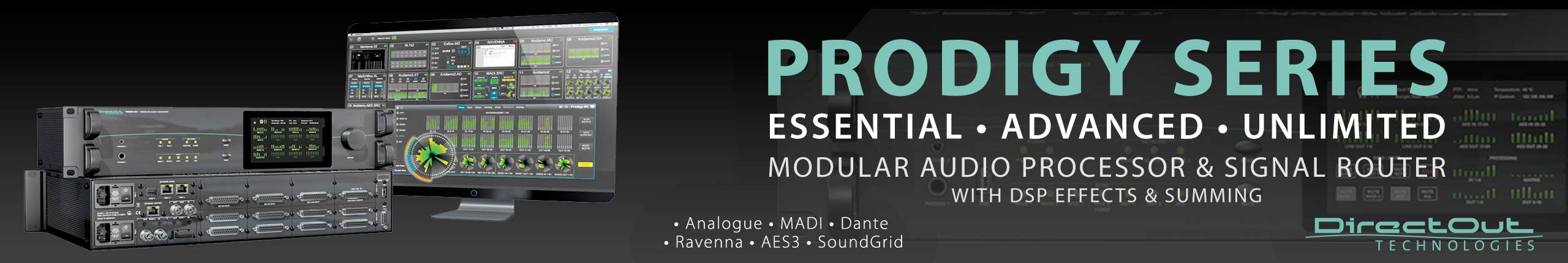 DirectOut Prodigy Series
