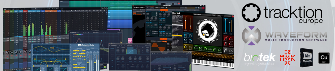 Tracktion - Contemporary Music Production Software