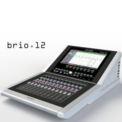 Calrec Brio12 Broadcast Console