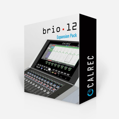 Calrec Audio Brio 12 - DSP Upgrade - Synthax Audio UK