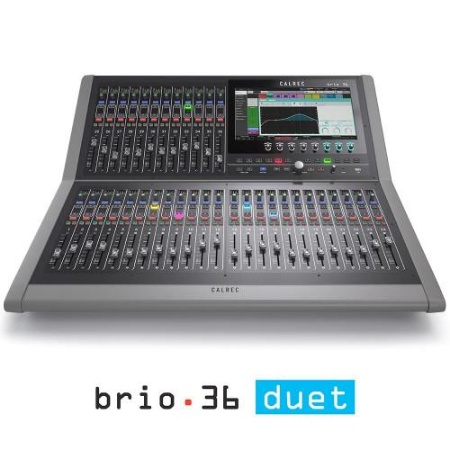 Calrec Brio 36 Duet - Compact Broadcast Console