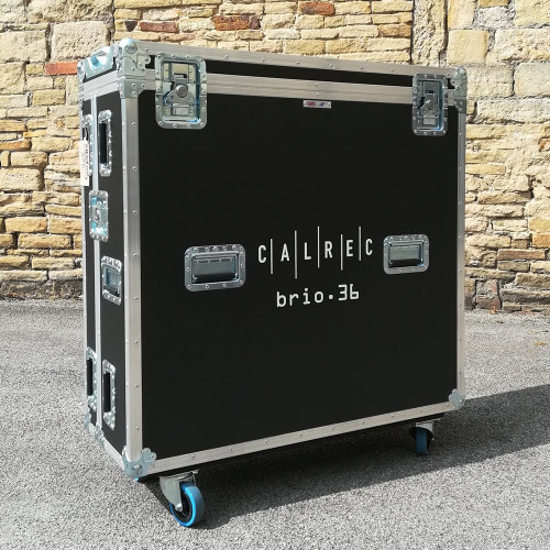 Calrec - Flightcase for Brio Consoles - 498-001 - Synthax Audio UK