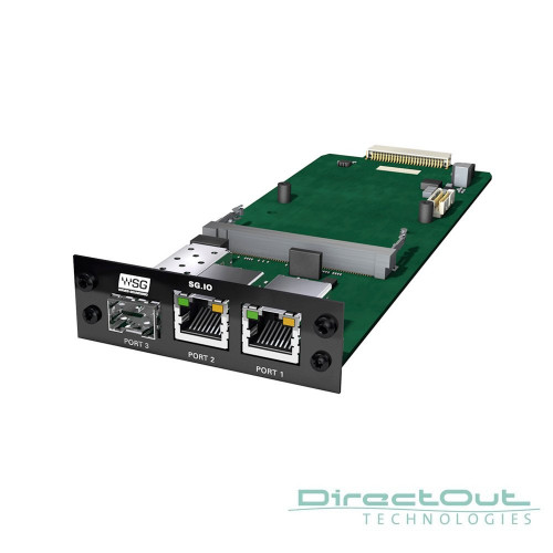 DirectOut SG-IO - Waves SoundGrid Card - Synthax Audio UK