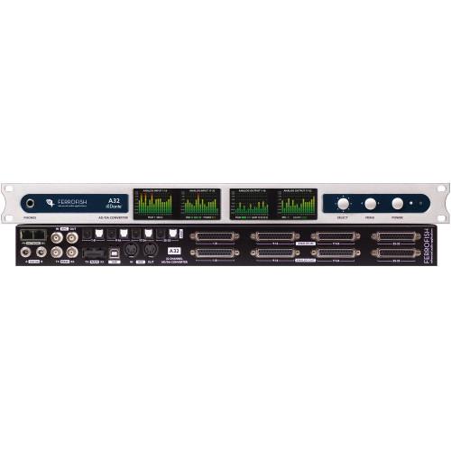 Ferrofish A32 Dante - 01 - Synthax Audio UK