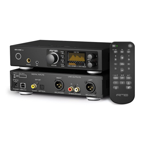 RME ADI-2 DAC - Front-Back-Remote - Synthax Audio UK