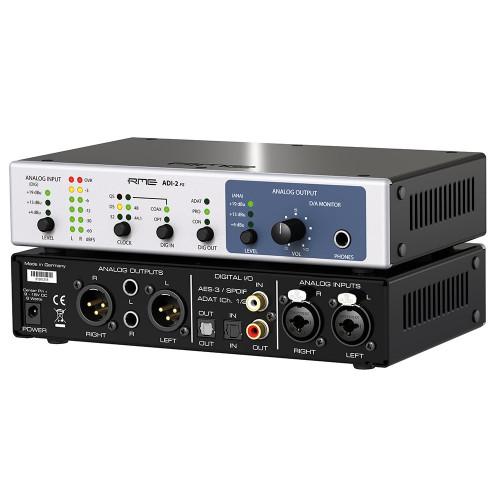 RME ADI-2 FS ADDA Converter - Angle - Synthax Audio UK