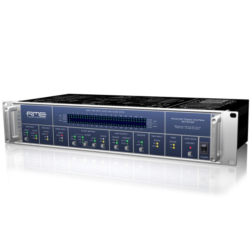 RME ADI-6432 - Bidirectional 64-Channel 192 kHz MADI <> AES-3id format converter