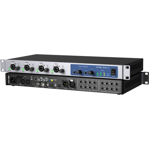 RME Fireface 802 - Front-Rear Angle - Synthax Audio UK.jpg