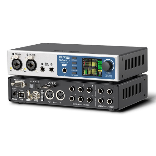 RME Fireface UCX II - Perspective - Synthax Audio UK