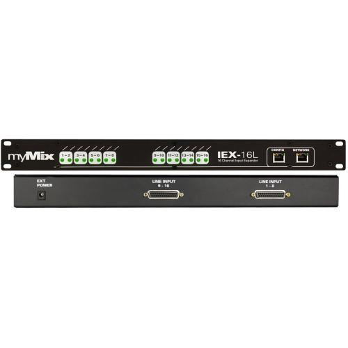 myMix IEX-16L 16 channel input expander