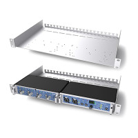 Universal racktray for 1/2 U RME products