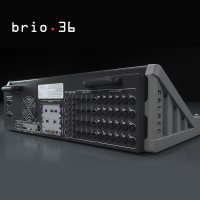 Calrec Brio36 Console Rear