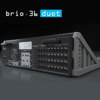 Calrec Brio 36 Duet Rear - Compact Broadcast Console