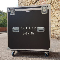 Calrec - Flightcase for Brio Consoles - 498-001 - 02 - Synthax Audio UK