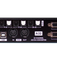 Ferrofish A32 - Rear-Closeup - Synthax Audio UK