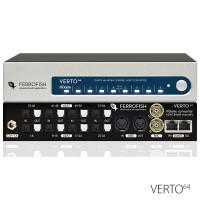 Ferrofish Verto64 - Dante Format Converters - Synthax Audio UK