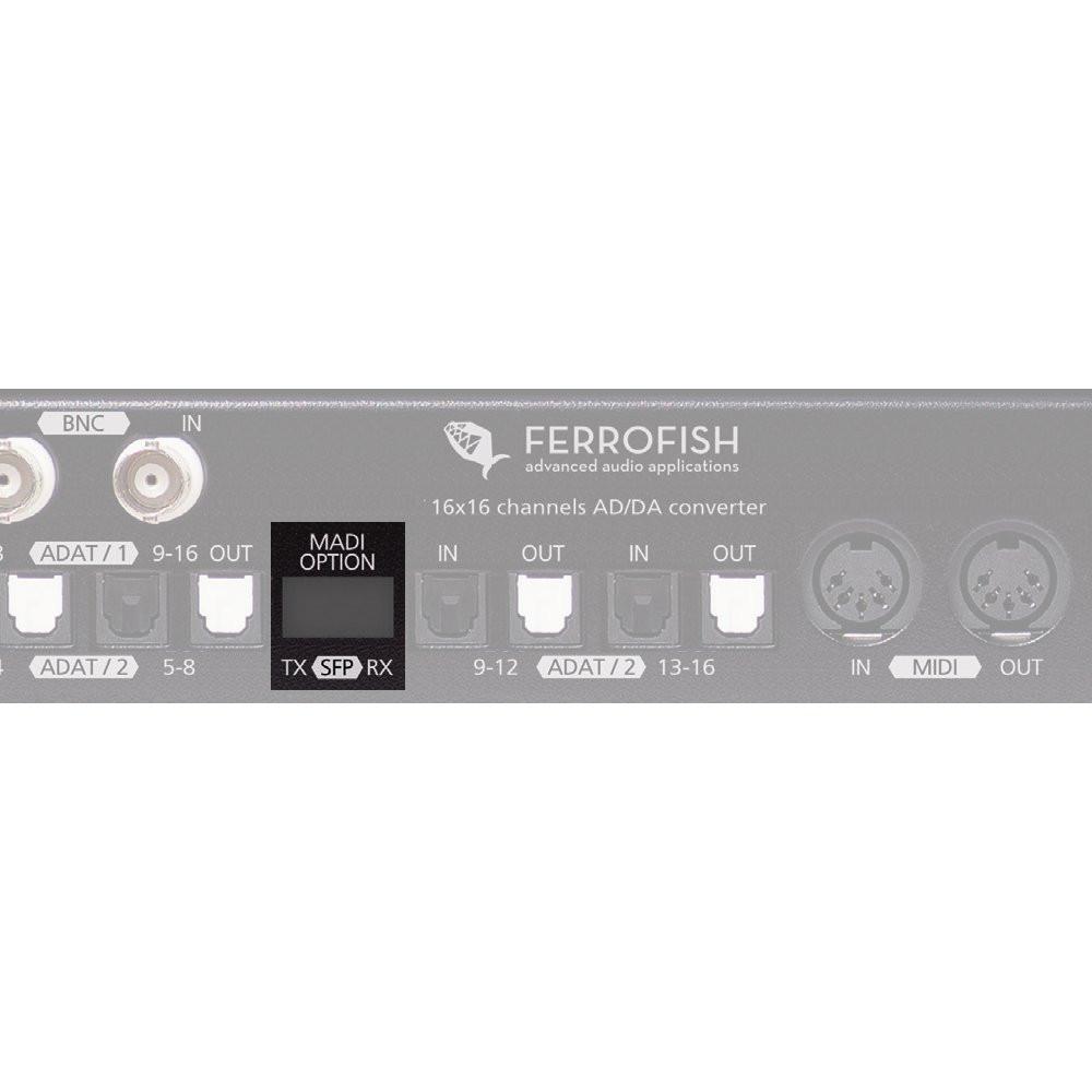 Ferrofish MADI SFP Module - MADI option for the Ferrofish