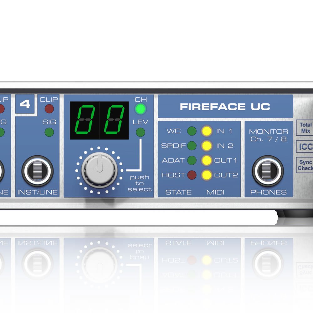 36 Channel USB 2.0 Audio Interface