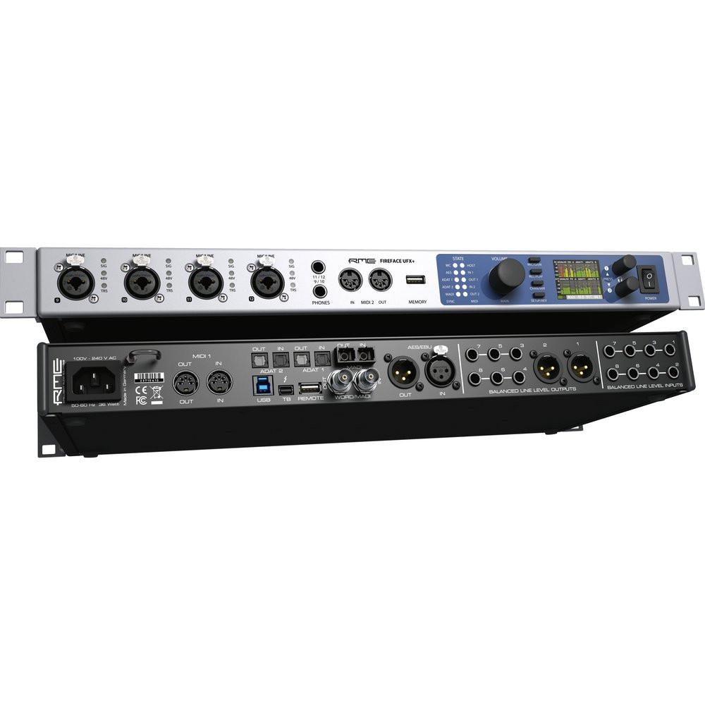 rme fireface ufx 188 channel 24 bit 192khz pro usb 3 0 thunderbolt audio interface. Black Bedroom Furniture Sets. Home Design Ideas