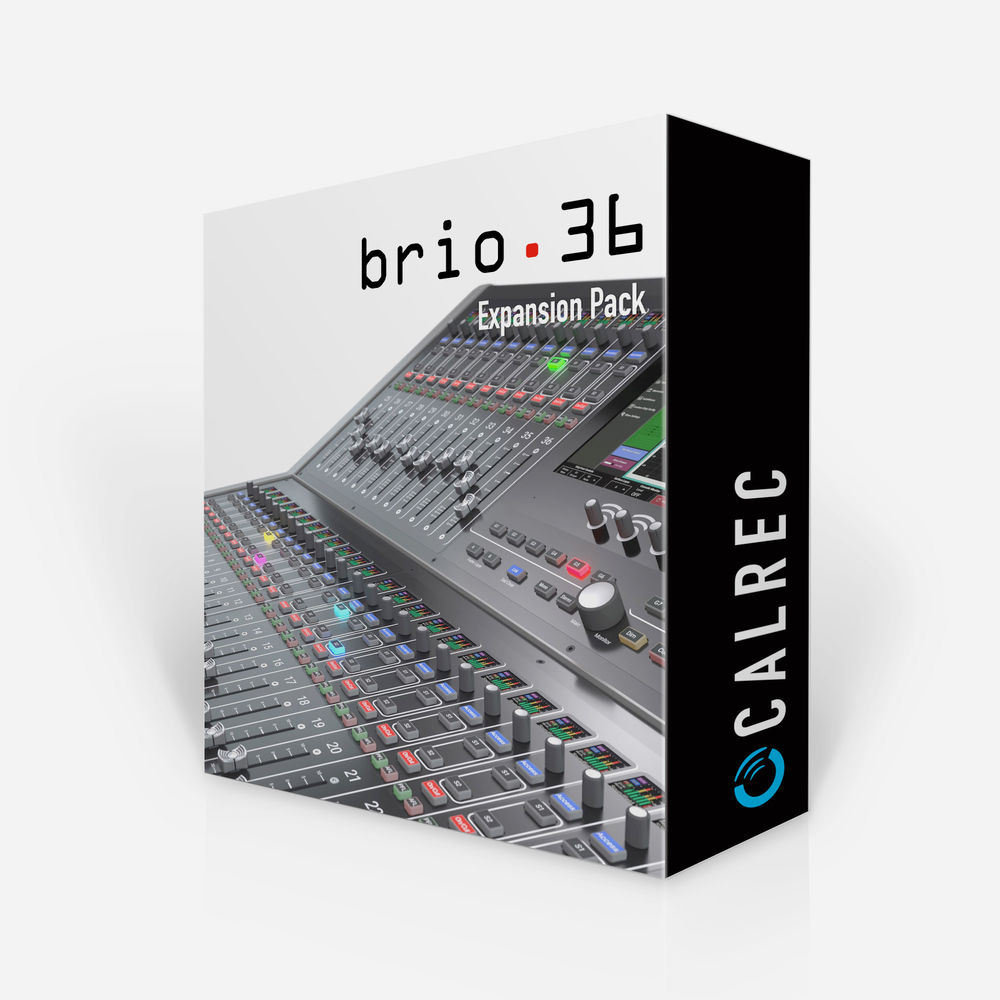 Calrec Brio 36 DSP Expansion Upgrade