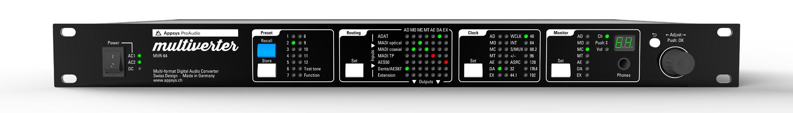 Appsys Proaudio Multiverter Mvr 64