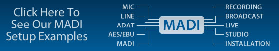 RME MADI System Setups