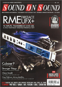RME Fireface UFX+ Review by Sound On Sound